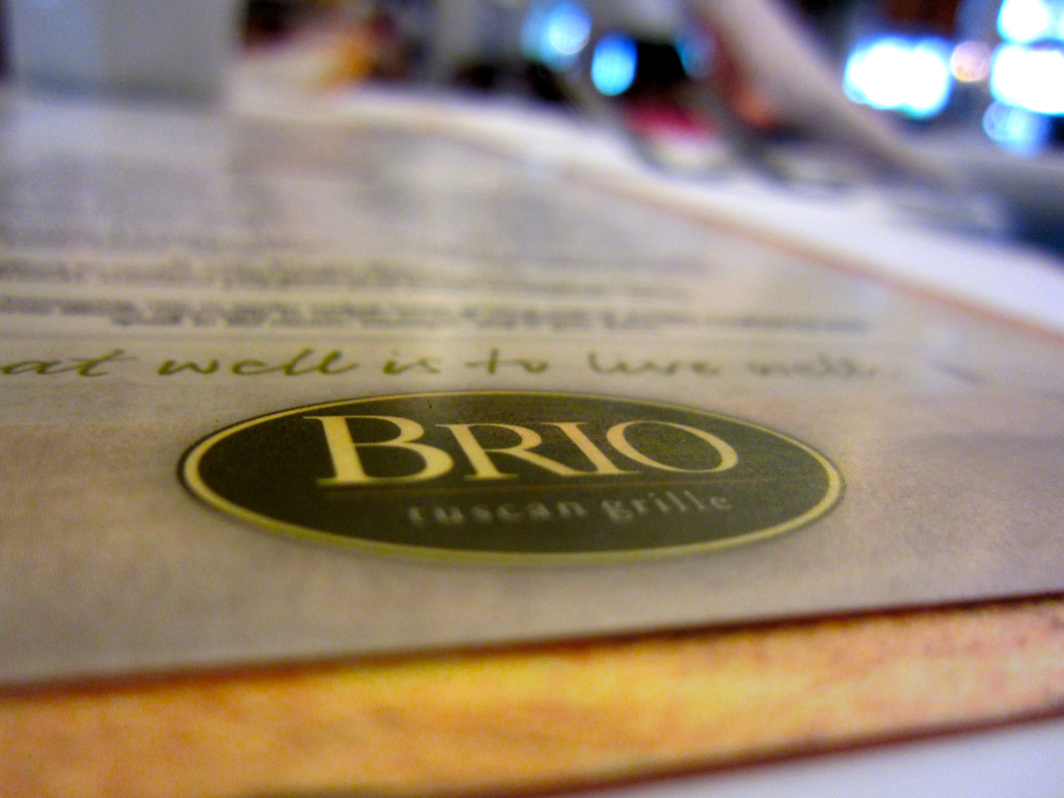 HAIKU REVIEW: BRIO TUSCAN GRILLE | Feed The Monster