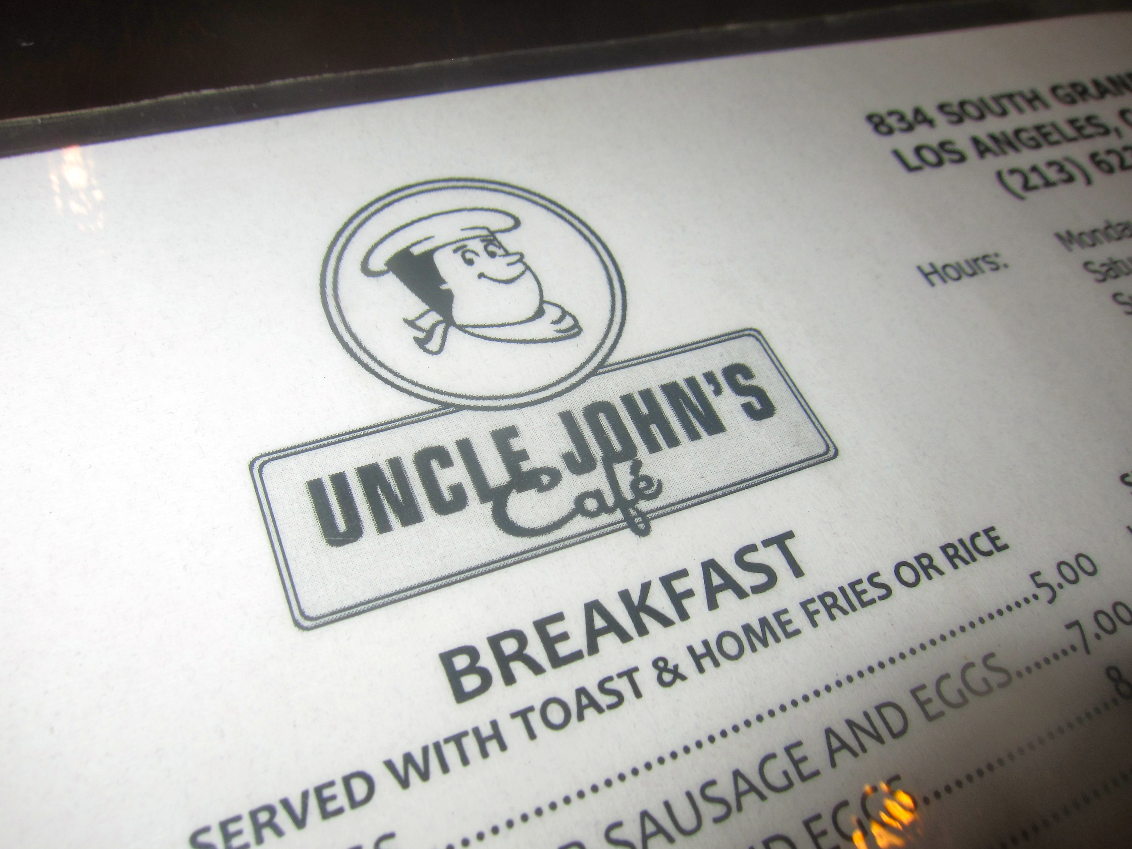 REVIEW: UNCLE JOHN\'S CAFE | Feed The Monster
